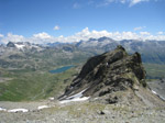 M222 (264290 byte) - Loga Valley and Lake Montespluga from Bivouac Cecchini (2750mt)
