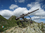 M298 (222747 byte) - Howitzer of the first world war at Tagliaferri Hut ( 2328mt)