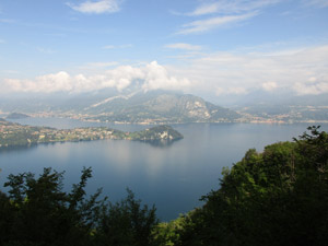 Panorama verso Bellagio
