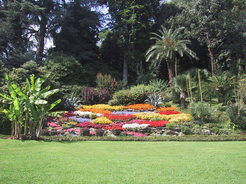 Imagenes De Jardines Con Flores: Fondos Escritorio: Flores: Jardines