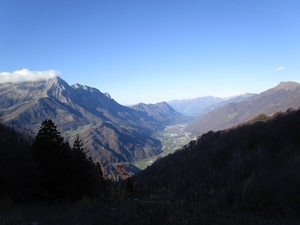 Panorama a valle